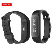 Original Lenovo HW01 Smart Band Wristband with Bluetooth 4.2 Heart Rate Moniter Pedometer Sports Fitness Tracker for Android iOS