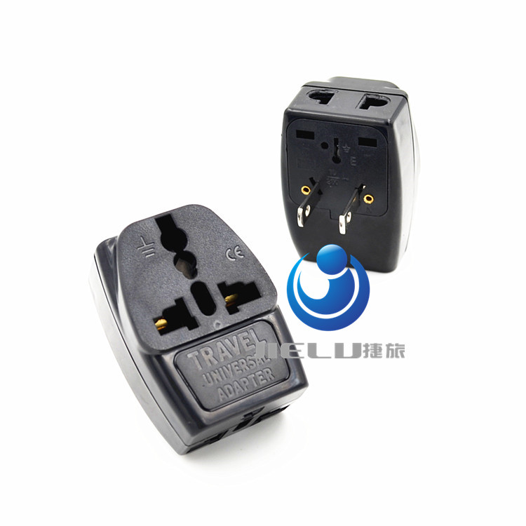2017 1 to 3 EU AU To US USA Plug Adapter Australia European To America Universal AC Travel Power Adapter Converter  TYPE A 2016 south africa travel adapter type m large 15 amp bs 546 2 port multi outlet black color 1 to 2 eu au usa plug 15a