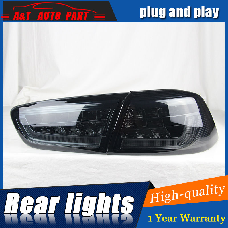 Auto Clud Car Styling for Mitsubishi LANCER Taillights 2010-2012 LANCER LED Tail Lamp Rear Lamp DRL+Brake+Park+Signal led lights auto car led number license plate lights lamp bulb car styling xenon white for mitsubishi asx vehicles tail rear lamp