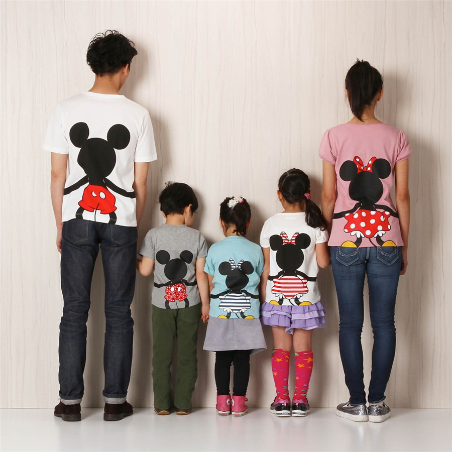 Summer 2019 Girls BoysT Shirt Mickie And Minnie Daisy Donald Duck Cartoon Micky Mouse Tshirt animal print toddler shirts