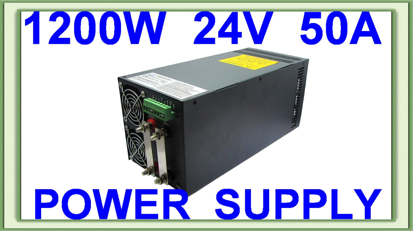 High quality hot sell Parallel SCN-1200-24V single output led driver switching power supply approved CE RoHS ce rohs high power scn 1500 24v ac dc single output switching power supply with parallel function