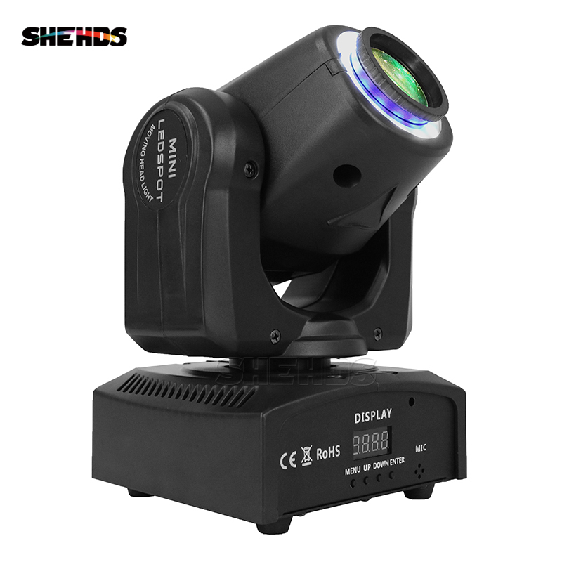 LED Spot 30W DMX512 Stage Effect Lighting With Light Strip Good For DJ Disco Parties Dance Floor And Christmas Decorations
