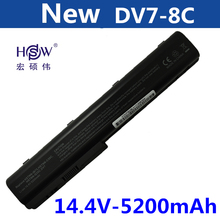 rechargeable laptop battery for hp Pavilion DV7 DV7-1000 DV7-3000,Pavilion DV8 DV8-1000,FOR HP HDX18 HDX18-1000 HSTNN-C50C, brand new black laptop keyboard 534695 281 aeut5 00110 for hp pavilion dv7 series thailand 100