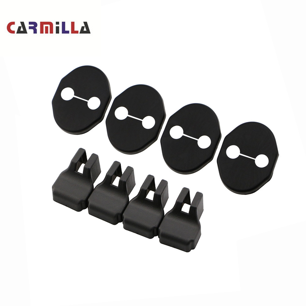 Car Door Lock Decoration Cover Car Covers Door Stopper Protection Cover For Mazda 2 3 5 6 8 CX5 CX-5 CX7 CX-7 CX-9 MX-5 ATENZA