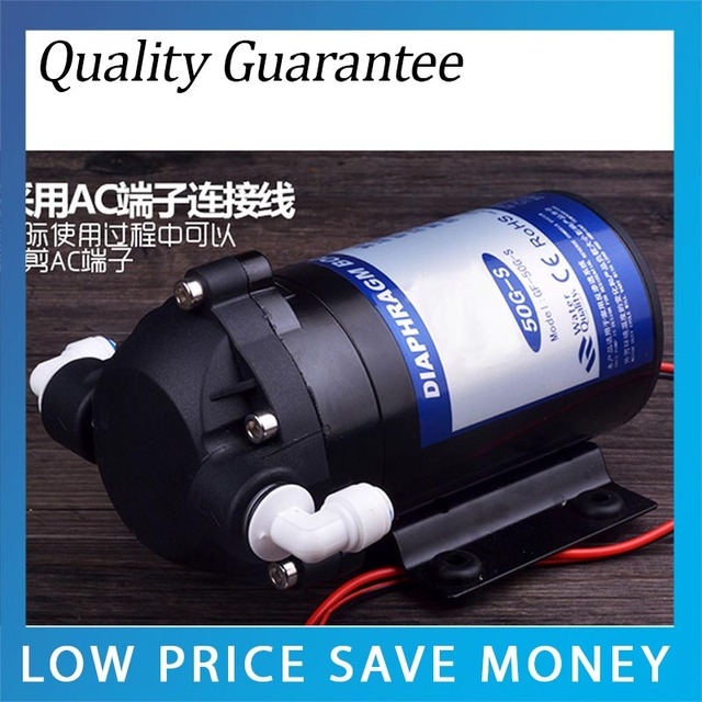 DC 24V High Pressure Water Pump For Water Purifier System Household ...