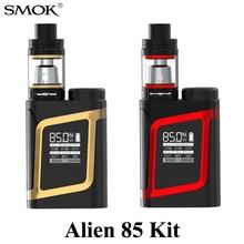 Alienígena AL85 Kit Cigarro Eletrônico com TFV8 Smok SMOK Tanque Do Bebê 3 ml AL85 85 w E Vape MOD 18650 e-Cigarro 3000 mah E-Kit Vape