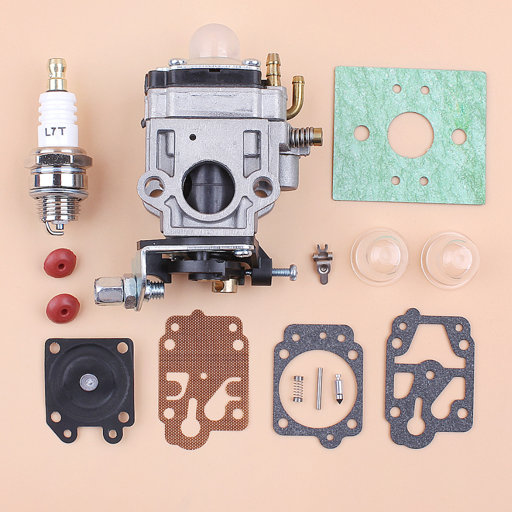 Carburetor Carb Repair Kit CG430 CG520 43CC 52CC 47CC 49CC 40-5 44-5 2 Stroke Engine Motor Chinese Brush Cutter Grass Trimmer