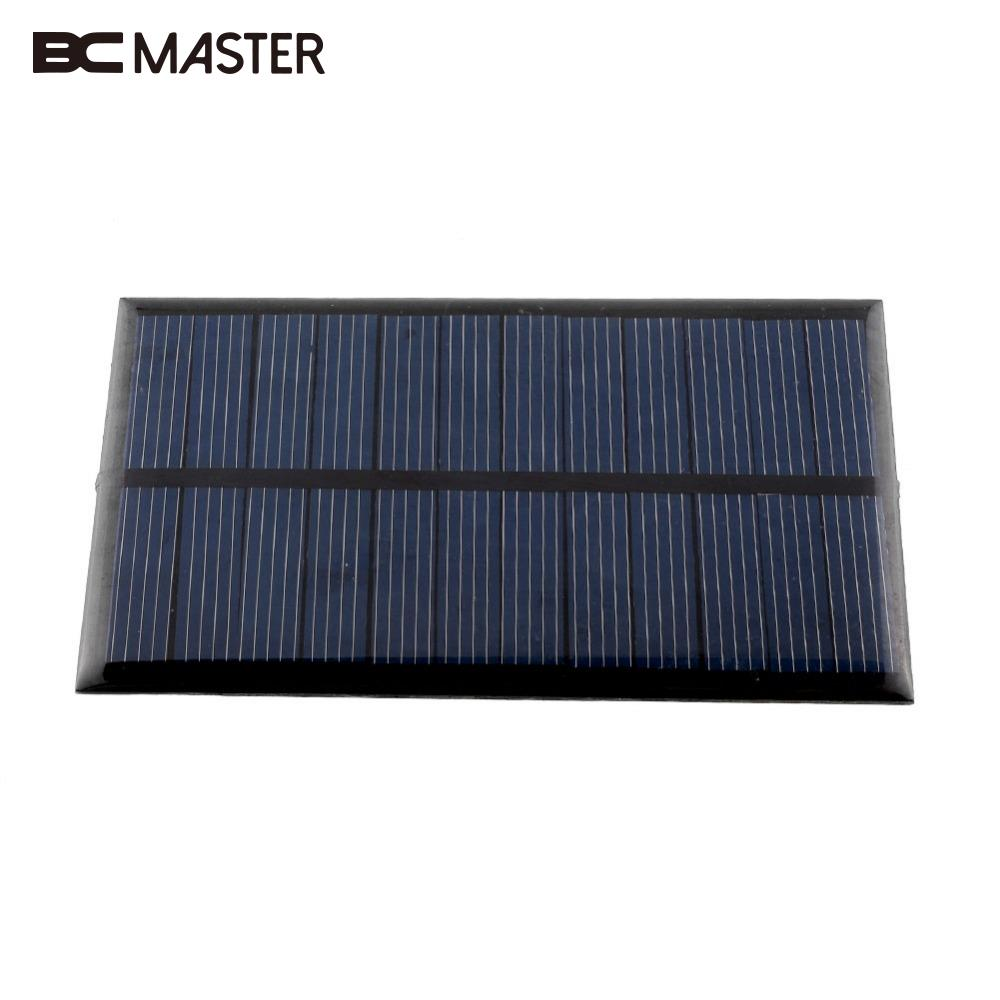 Mini 6V 1W Solar Panel Solar System Module Home DIY Solar Power Bank For Battery Cell Phone Toys Chargers Portable Drop Shipping