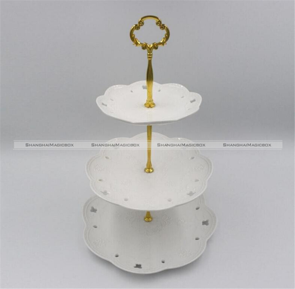 1set 3 Tier Layer Fruit Plate Holder Cake Stand