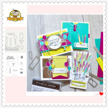 2019 New Birthday Candle 8Pc Metal Cutting Dies and Clear Stamps for Scrapbooking DIY Card Making Cutting Crafts Stencil Dies 2019 new cups metal cutting dies and clear stamps for scrapbooking for diy card making cutting crafts stencil dies