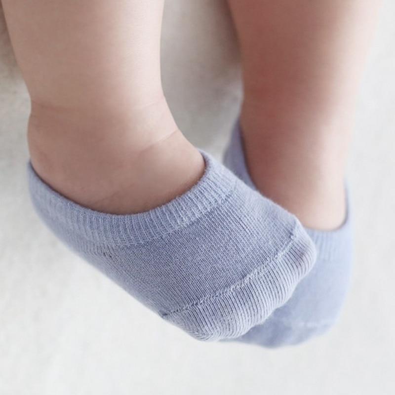 5pairs/lot High Quality Korean Children's Invisible Boat Socks Baby Non Slip Socks Cotton Sock for Girl and Boy 6