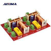 AIYIMA 2 pièces 200 W 3 voies haut-parleur Crossover aigus + médiums + haut-parleurs de croisement indépendants graves filtre séparateur de fréquence
