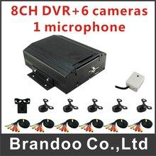 high quality 8ch full 960H 1 hdd 12v car dvr system for truck monitoring MDVR kit