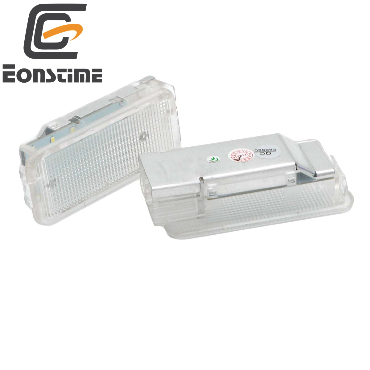 Eonstime 2Pcs 18SMD <font><b>LED</b></font> luggage <font><b>lights</b></font> car compartment Interior <font><b>light</b></font> Lamp For <font><b>Peugeot</b></font> 1007 206 207 306 <font><b>307</b></font> 3008 406 407 5008 image