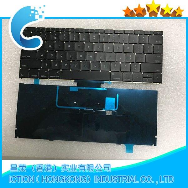 "Фотография 100% original For Macbook 12"" A1534 US Keyboard for macbook A1534 2015 layout"