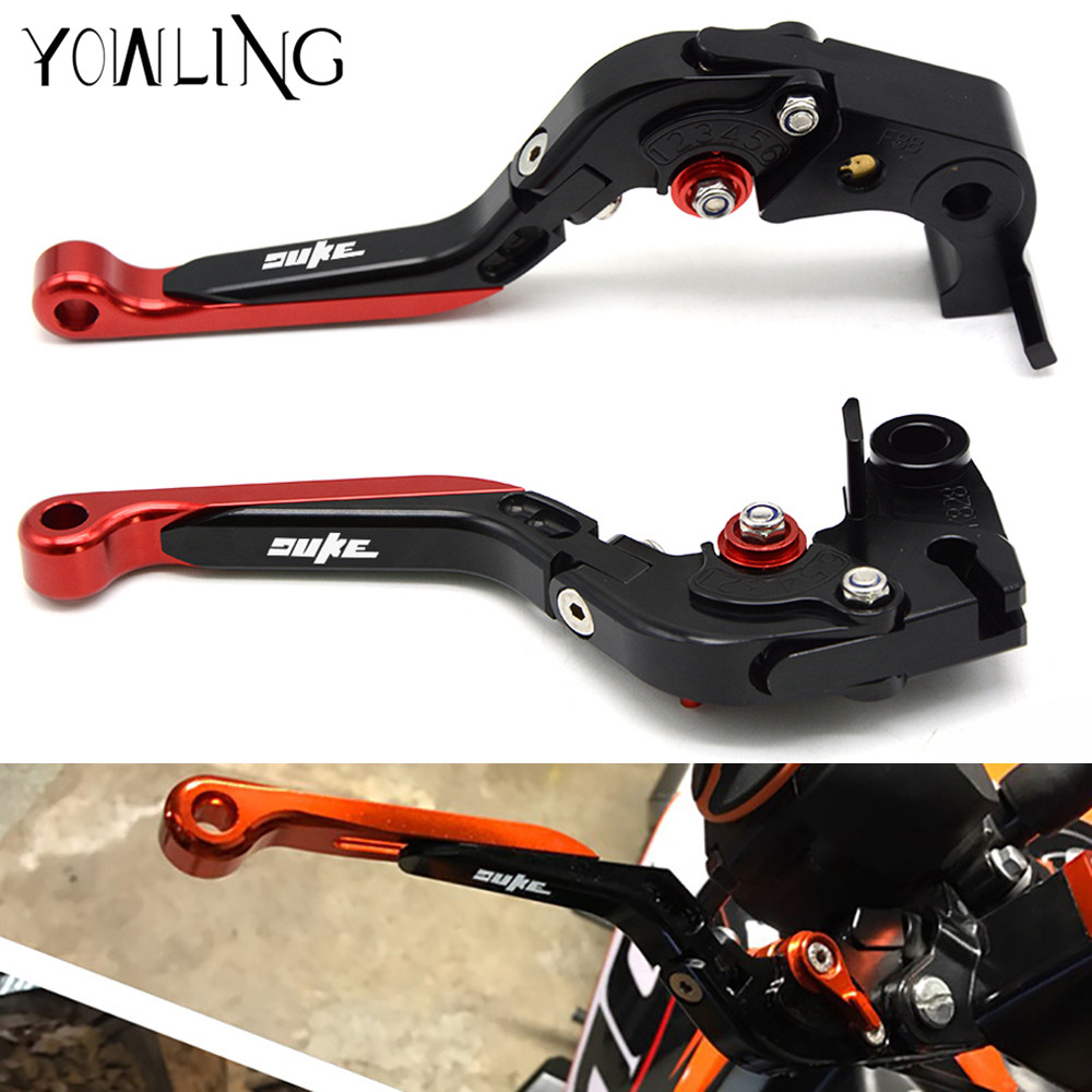 Motorcycle Accessories Adjustable Folding Extendable Brakes Clutch Levers for KTM 690 Duke/SMC/SMCR 2014 2015 2016 2017 hot motorcycle adjustable folding extendable brake clutch levers motorbike brake for ktm duke 690 smc smcr 2014 2015 2016