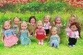 2016 Popular fashion dolls Toys for Girl Barbie Dolls , Super cute small Kelly dolls for barbie dolls