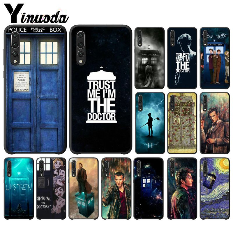 Hearty Babaite Tardis Doctor Dr Who Police Box Luxury Phone Cover For Huawei Mate9 10 Mate10 Lite P9 P10 Plus P20 Pro Honor10 View10 Half-wrapped Case