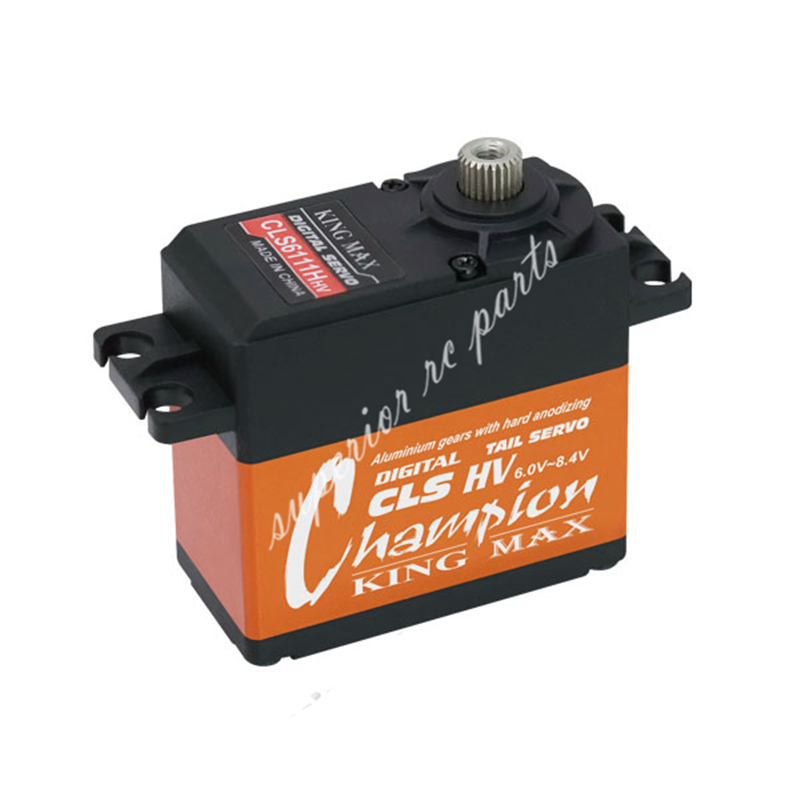 KINGMAX 61g 11kg.cm CLS6111HHV Digital Metal Gears HV Standard Coreless Servo for DIY RC Drone FPV ручки benu 11 3 26 1 0 n cls