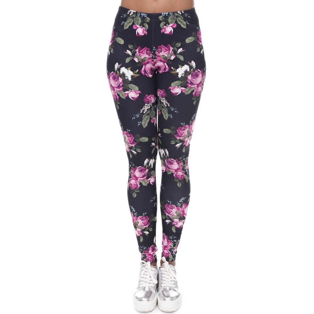 Brands Women Fashion Legging Aztec Round Ombre Printing leggins Slim High Waist  Leggings Woman Pants 24