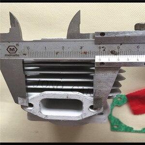 Image 2 - 44 MM 52CC BC520 CG520 מברשת חותך צילינדר בוכנה ערכת w/סעפת צילינדר אטם מחט Bearing עבור TL52 דשא גוזם