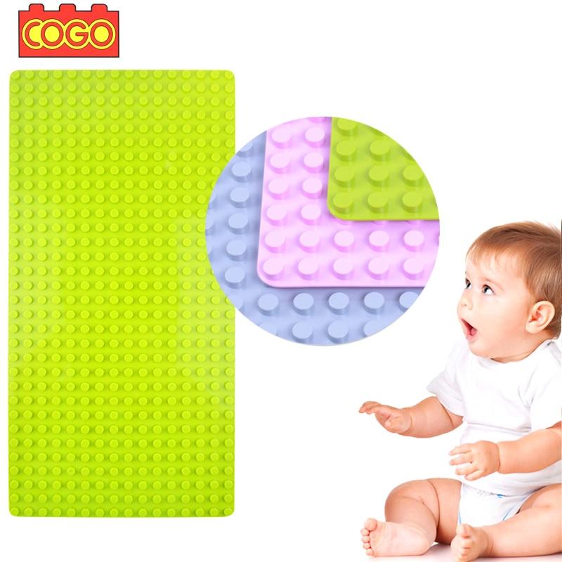 Plate, Blocks, Big, Gift, Children, Duplo