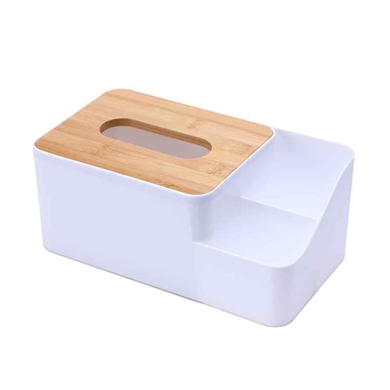 Napkin Storage Living Room Holder Clear Acrylic Car Office Non Toxic Tissue Box