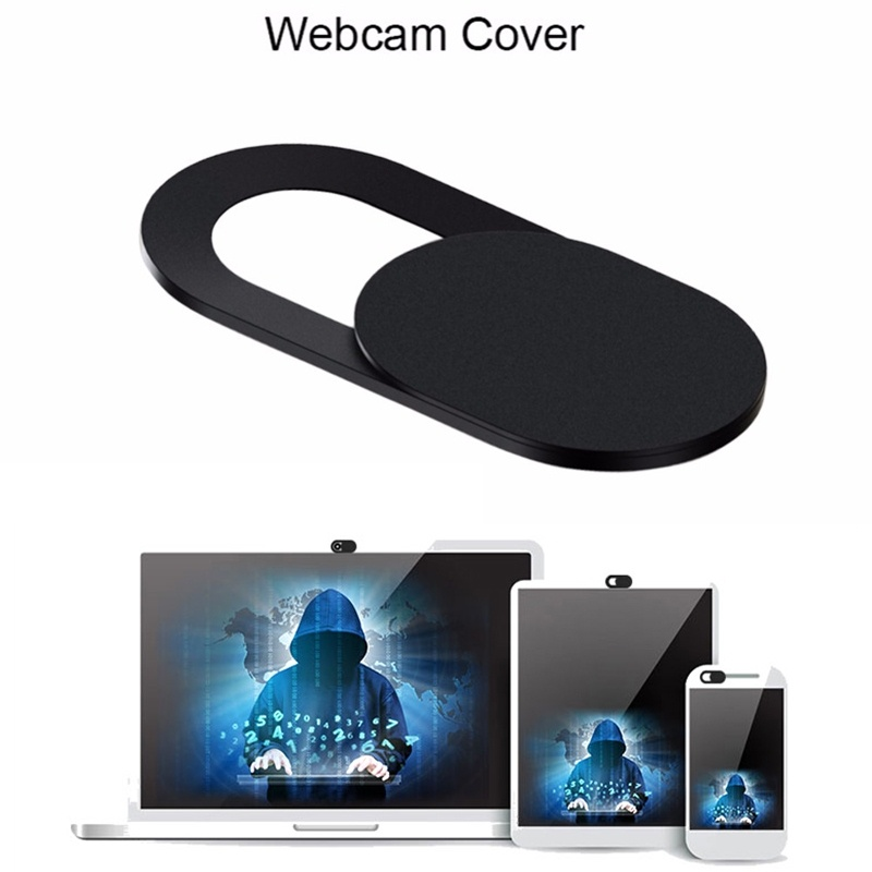 3Pcs Universal Plastic WebCam Slide Shutter Cover Web
