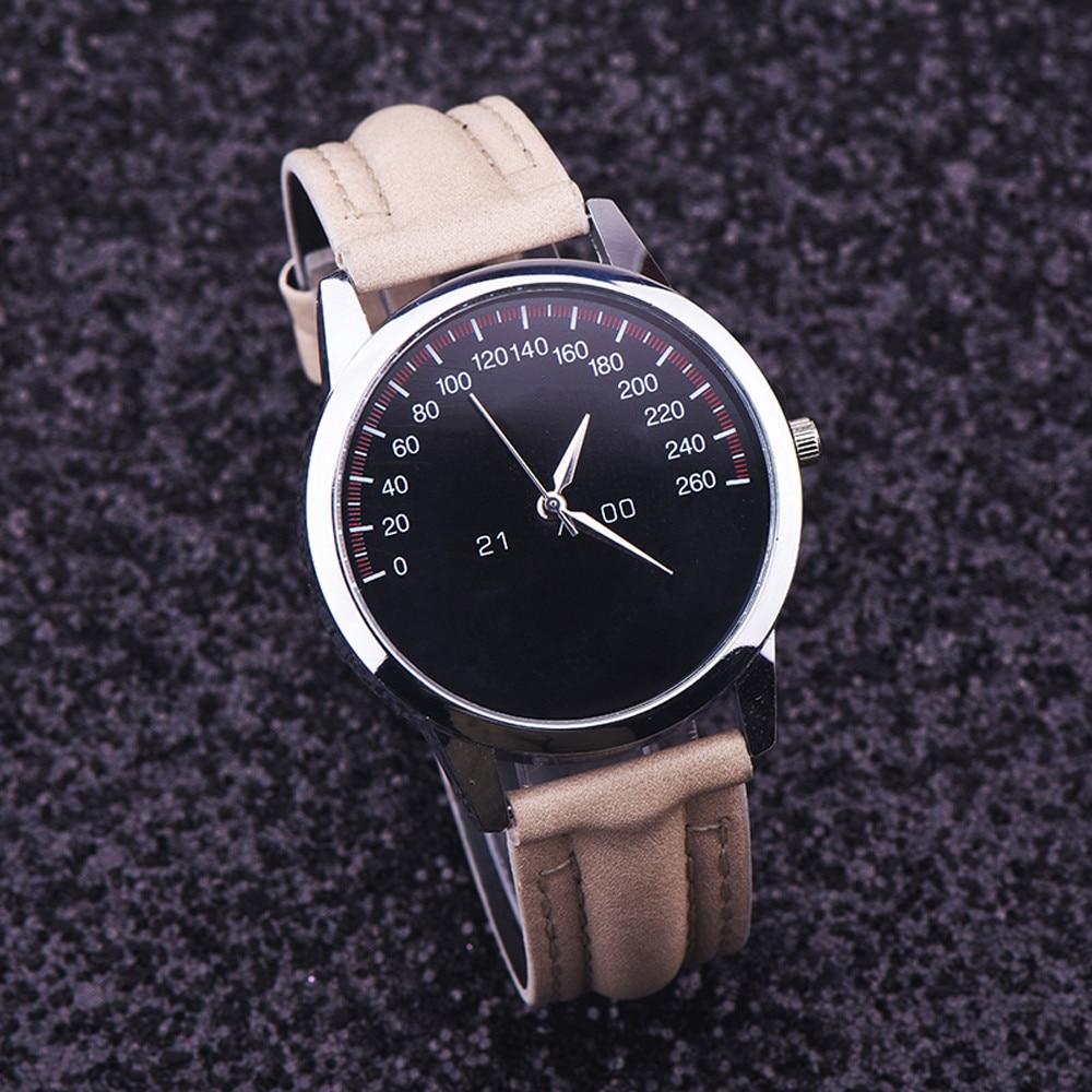 Watch Men Watches Top Brand Luxury Relogio Masculino Montre Homme 2018 Quartz Famous Faux Leather Male Clock