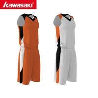 Kawasaki Custom Reversible Basketball Uniforms Breathable Mens two sides Basketball Shirts sets Sports Team wear Clothing
