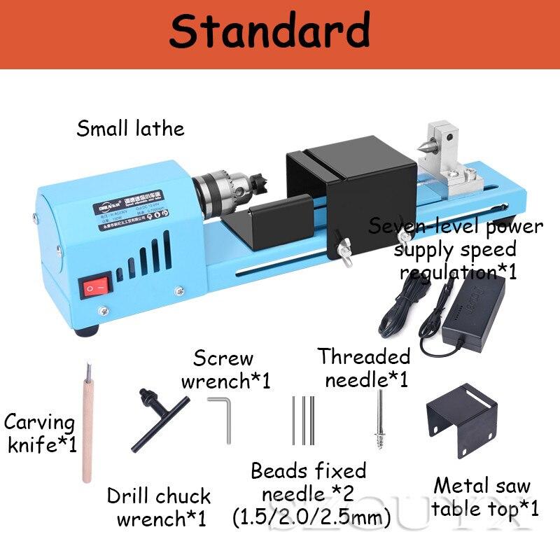 máquinas de madeira elétrica mini torno moagem máquina polimento