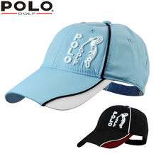 16727b39296 POLO Baseball Cap Breathable Spnapback Sports Bucket Sun  Fishing Hat  Outdoor for Man
