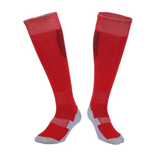 Football Stockings Cycling Long Soccer Socks Winter Leg Warmers Thickened Cotton Sports Socks For Adult Men Women