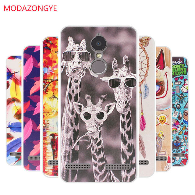 best sneakers 3af71 4894f US $2.39 20% OFF Lenovo K6 Power Case Silicone Painted Soft Tpu Phone Case  Back Cover For Lenovo Vibe K6 Power K33A42 Case Protective Bags Funda-in ...