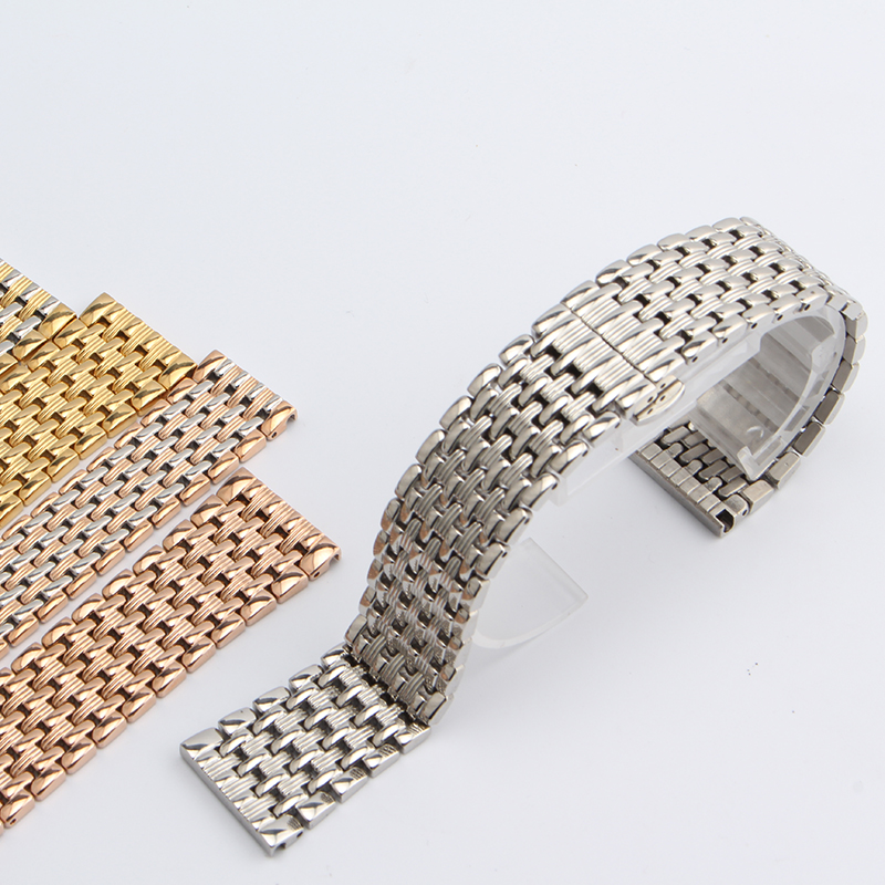 Silver Watchband stainless steel polished Watch Straps Bracelet for hours men lady stylished watchbands 18mm 20mm 22mm new 2016 laser printer spare parts for minolta cf2203 image unit drum chip