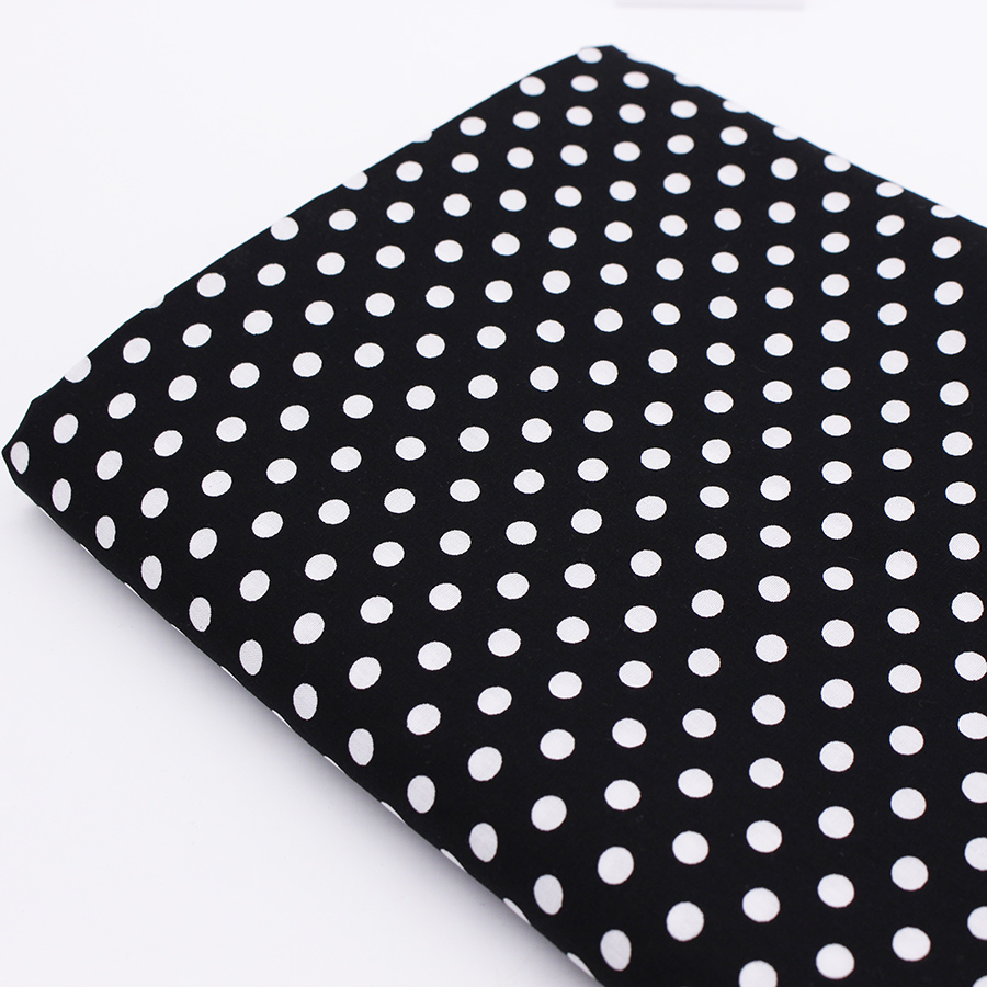 Cotton fabric dot pattern sewing tilda fabrics coton tissu for Cloth material for sewing