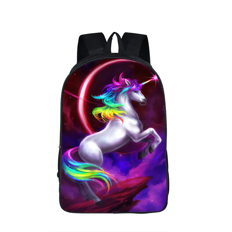 5a5ede2e29a Galaxy / Universe / Unicorn / Cheshire Cat School Backpack For Teeange  Girls School Bags Starry Night / Space Star Schoolbags