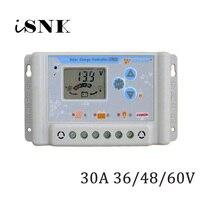 30A 36V 48V 60V LI LI ION NI MH LiFePO4 cell Battery Solar Panel Charge Controllers Regulator USB Mobile phone charger
