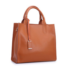 genuine leather Woman Handbag Cowhide Women Messenger Bags Fashion High Quality Lady Shoulder Bag Casual shopping big bags 2016
