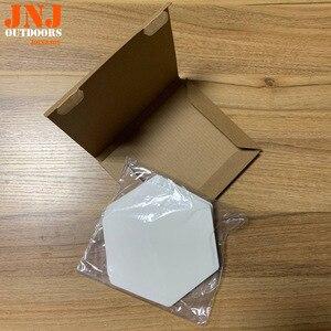 Image 5 - Waxless משושה סגנון גלשן שקוף סיפון גרירה pad 20pcs תיבה