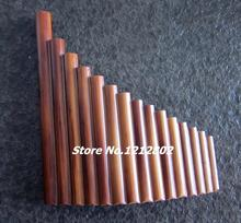 Hot Sale Panflute 15 Pipes Bamboo Wind Music Instrument Panpipe G Key Flauta Xiao Handmade Dizi Folk Musical Instruments