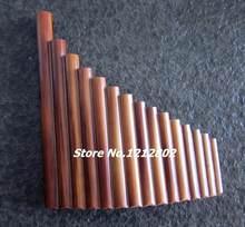 Hot Sale Panflute 15 Tubos de Bambu Panpipe G Chave Flauta Xiao Dizi Artesanal Do Vento Instrumento de Música Instrumentos Musicais Populares