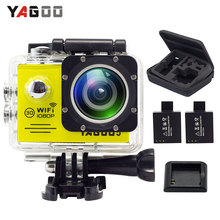 YAGOO5 Action Camera waterproof WIFI 12MP Full HD 1080P 30FPS 2.0″LCD 170D Sport Video cam Helmet camcorder