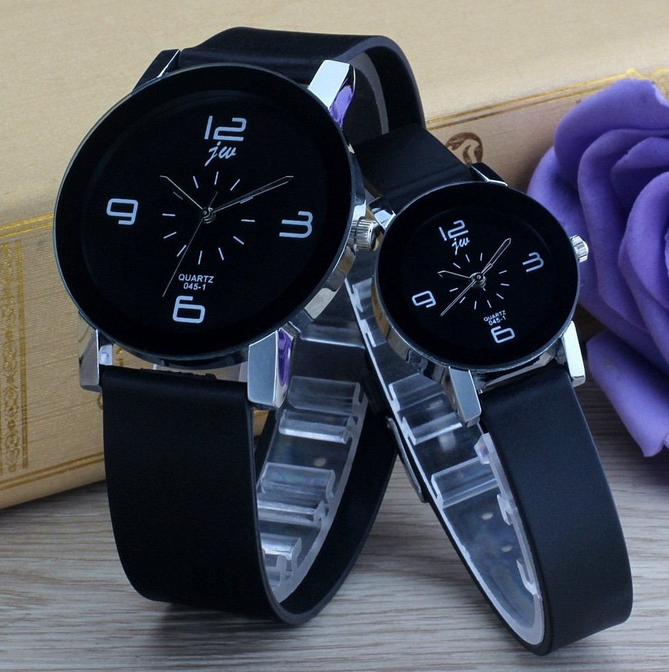 Men Clock Watch Strap Quartz Jw Sports Lover Brand Casual Fashion Geometry Masculino title=