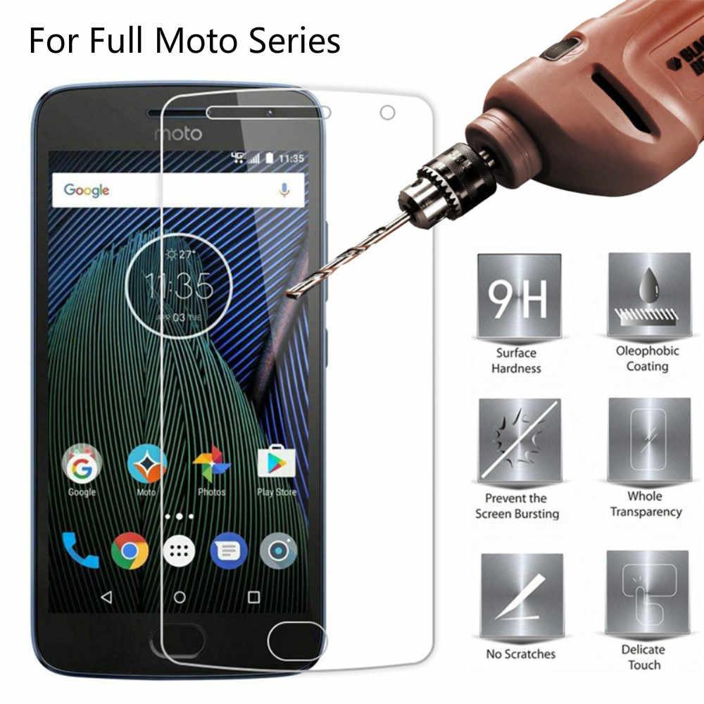9H Премиум Закаленное стекло Крышка для Motorola E5 Plus G5 G6 Защитная пленка экрана Moto One