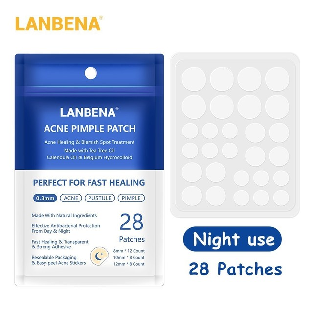 LANBENA Acne Removal Patch Acne Treatment Mask Anti Acne Stickers Blackhead Pimple Remover Face Cream Facial Tool Skin Care 2