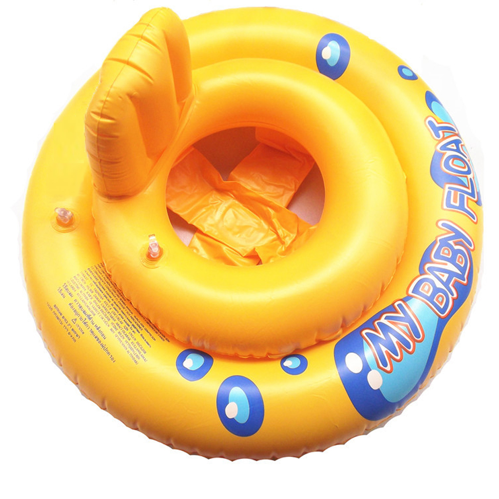 Inflatable Swimming Circle Air Mattress Baby Float Seat Boat Tube Ring Rubber Swim Swimm ...