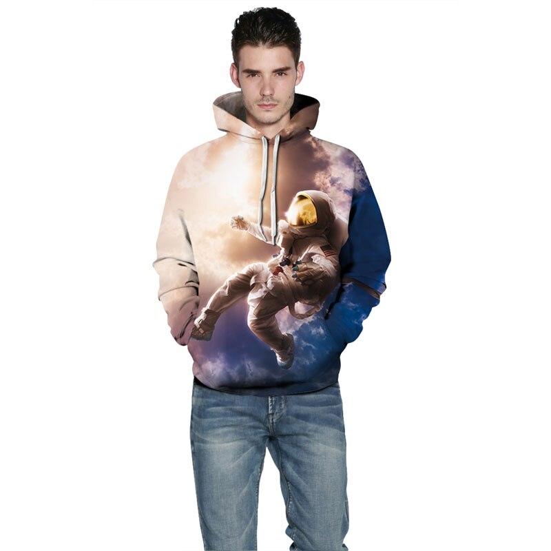 New Fashion Men/Women 3d Sweatshirt Print Astronauts On The Moon Astronauts On The Moon hoodies HTB1BnuRbHsTMeJjSszhq6AGCFXaP