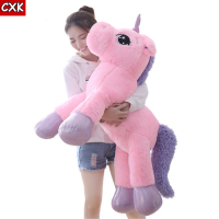 80cm Unicorn Plush Toy Soft Stuffed Popular Cartoon Unicorn Dolls Animal Horse Toy peluche unicornio Toys for Children Girls
