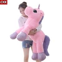 80cm Unicorn Plush Toy Soft Stuffed Popular Cartoon Unicorn Dolls Animal Horse Toy peluche unicornio Toys for Children Girls